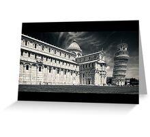Pisa #1 Greeting Card