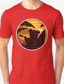 Good vibes music surf bear Unisex T-Shirt