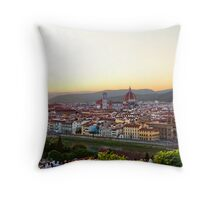 Firenze #3 Throw Pillow