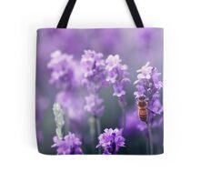 Bee in Lavender Tote Bag