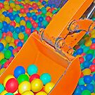 Multi-coloured Ball Pool by clearviewstock