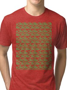 Jiu-Jitsu Green  Tri-blend T-Shirt
