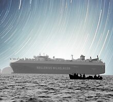 Sailing Beneath the Stars by Samuel Vanek