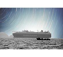 Sailing Beneath the Stars Photographic Print