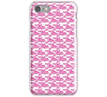Jiu-Jitsu Pink  iPhone Case/Skin