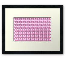 Jiu-Jitsu Pink  Framed Print
