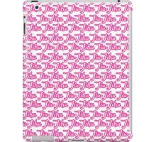 Jiu-Jitsu Pink  iPad Case/Skin