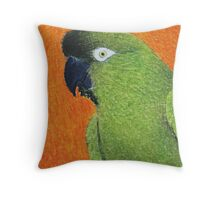 Patagonian Conure - ACEO Throw Pillow