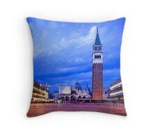 Piazza Saint Marco Throw Pillow