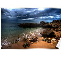 Storm off Point Perron Poster