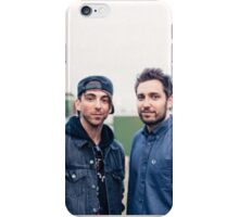 Alex Gaskarth and Josh Franceschi 4 - All Time Low and You Me At Six iPhone Case/Skin