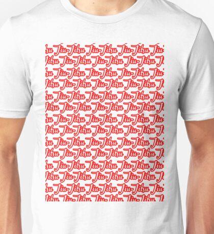 Jiu-Jitsu Red Unisex T-Shirt