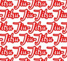 Jiu-Jitsu Red Sticker