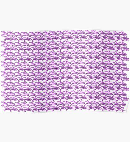 Jiu-Jitsu Purple  Poster