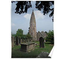 St Michael's Church, Llanyblodwel Poster