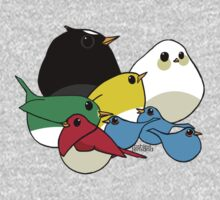 Not-so Angry Birds by KRASH  ❤