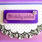 Birthday Wishes in Lilac by ©The Creative  Minds