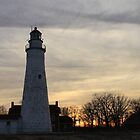 Fort Gratiot Lighthouse #2 by Joy Fitzhorn