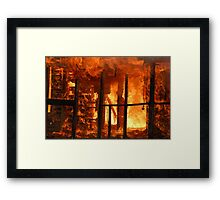 The Heat Framed Print