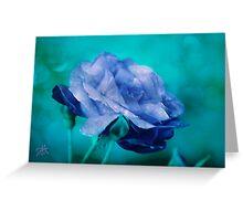 Rose of Blue Greeting Card