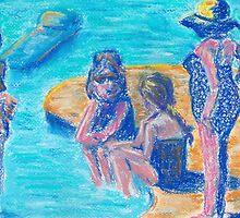 Bathers II  by Niki Hilsabeck