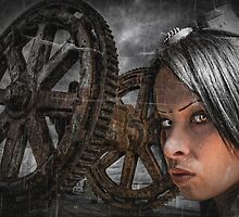 Steam Queen by Ant Vaughan