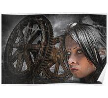 Steam Queen Poster