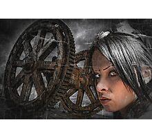 Steam Queen Photographic Print
