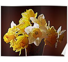 A Bouquet Of Daffodils Poster