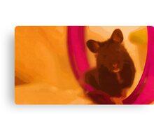 JoJo the Syrian Hamster Canvas Print