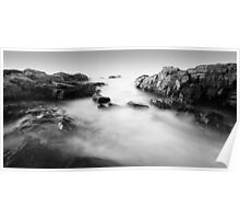 Marginal Way Seascape Poster