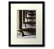 Passi, Castello dei Conti Guidi, Poppi, Toscana, Italia Framed Print