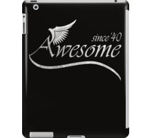 Awesome Since 1940 iPad Case/Skin