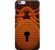 Digital lock iPhone Case/Skin