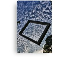 Annecy cube Canvas Print