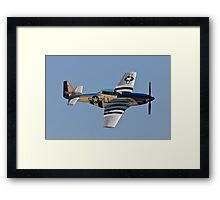 P-51 Mustang - Crazy Horse Framed Print
