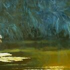 Great Blue Heron (crop) by Will Vandenberg