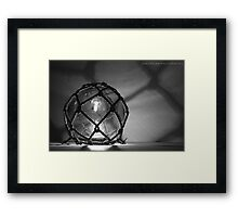 Sphere Light Framed Print