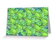 Save the Frogs Greeting Card