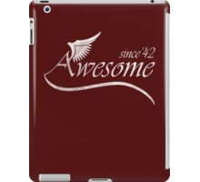 Awesome Since 1942 iPad Case/Skin