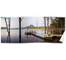 Lake Moogerah Sunrise Poster