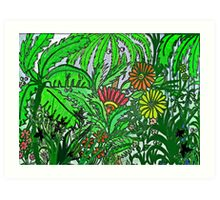 In the Jungle, the Mighty Jungle the Eyes Take a Peep Art Print