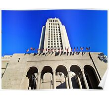 Los Angeles City Hall Poster