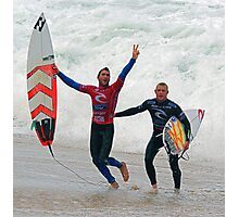 Joel Parkinson wins 2011 Rip Curl Pro at Bells Beach Photographic Print