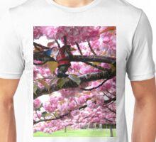 Sakura Hanging Unisex T-Shirt