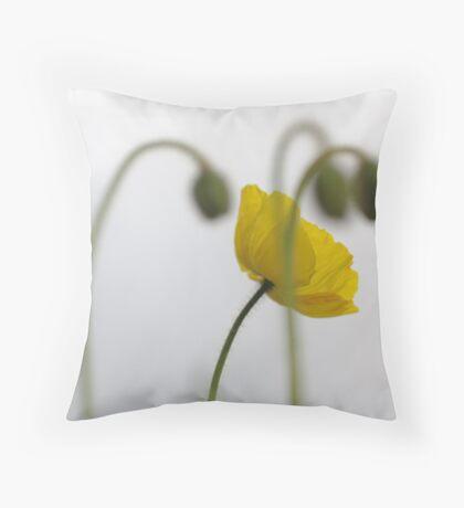 poppy 41 Throw Pillow