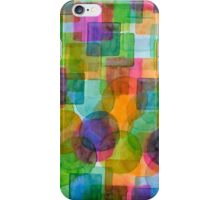 Befriended Squares and Bubbles iPhone Case/Skin