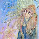 Leda and the swan by Lilaviolet
