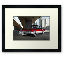 Candy Holden Commodore VL Turbo Framed Print