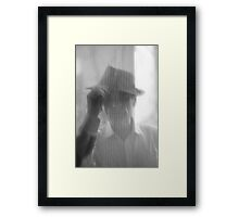 Loch Ness Monster (Nessie , Niseag ) misty  photographic material  -  Brown Sugar . Views (295) Thanks !!! Framed Print